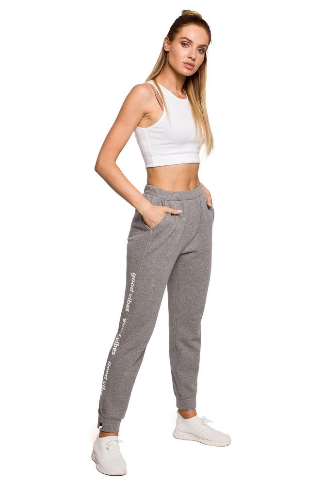 Pantaloni de trening model 157293 Moe gri