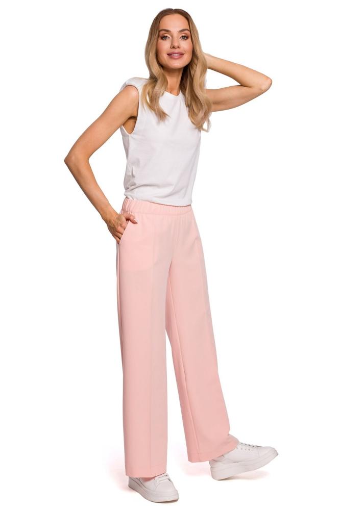 Pantaloni lungi model 152651 Moe roz