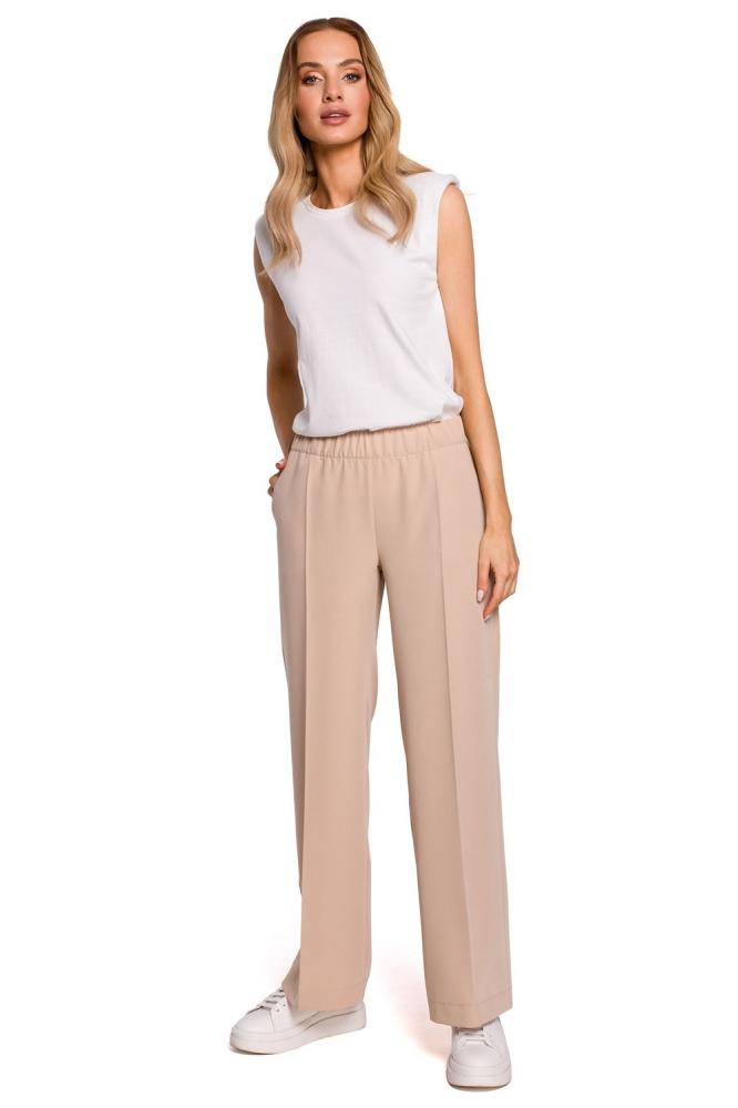 Pantaloni lungi model 152654 Moe bej