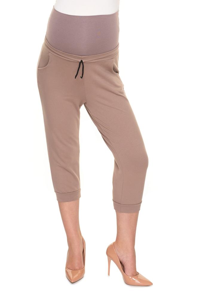 Pantaloni sub genunchi model 157819 PeeKaBoo bej