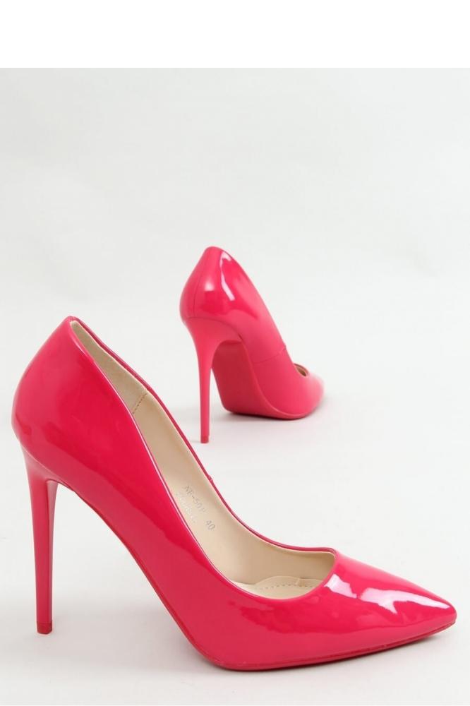 Pantofi cu toc subtire (stiletto) model 155193 Inello roz
