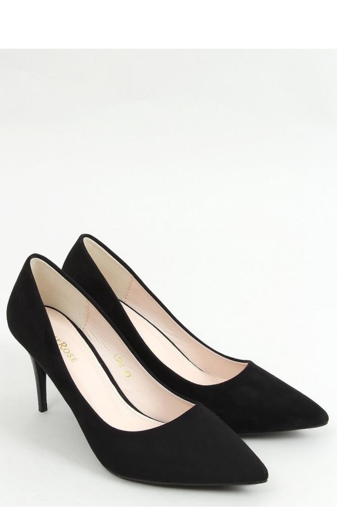 Pantofi cu toc subtire (stiletto) model 157234 Inello negru