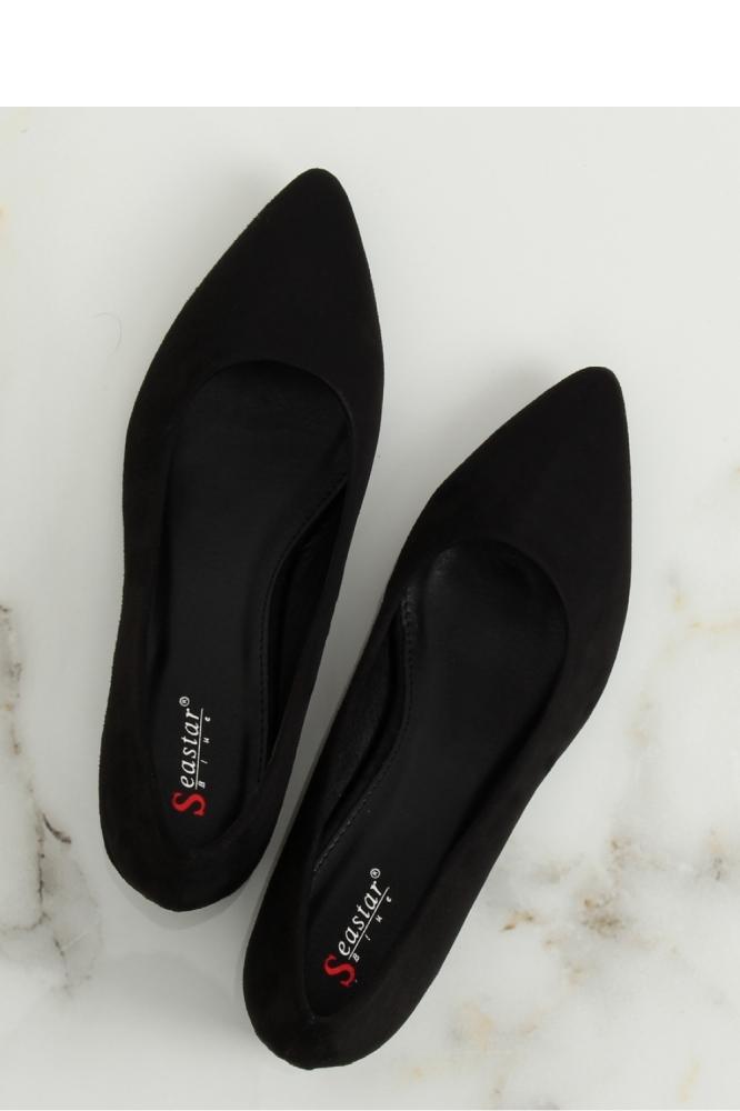 Pantofi dcu toc gros model 128131 Inello negru