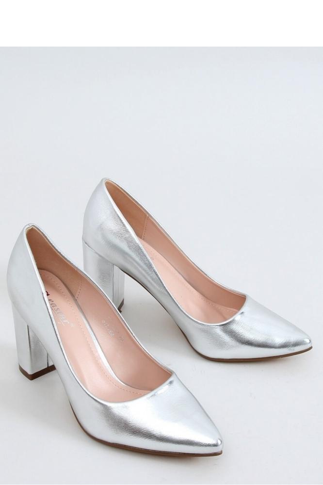 Pantofi dcu toc gros model 151558 Inello gri