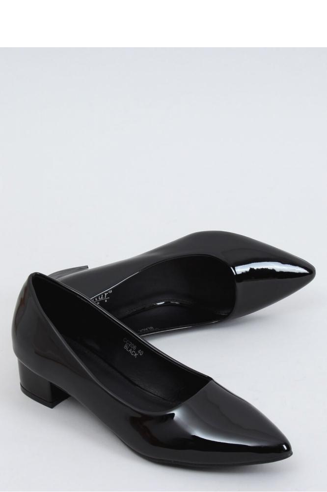 Pantofi dcu toc gros model 153354 Inello negru