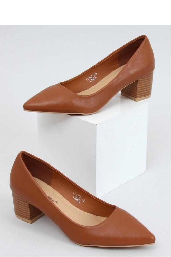 Pantofi dcu toc gros model 153400 Inello maro