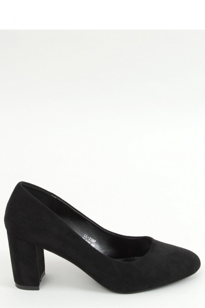 Pantofi dcu toc gros model 155593 Inello negru