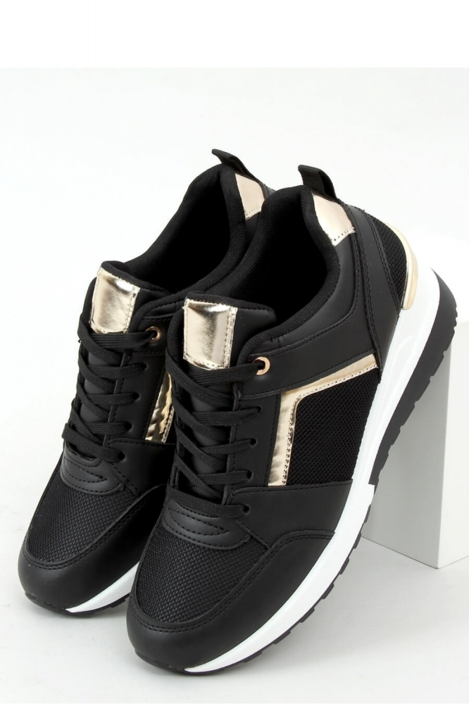 Pantofi sport talpa groasa Model 157989 Inello negru