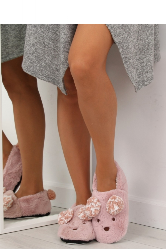 Papuci model 122842 Inello roz