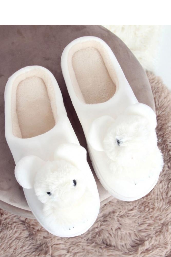 Papuci model 150947 Inello alb