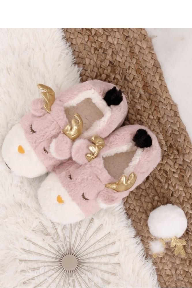 Papuci model 151023 Inello roz