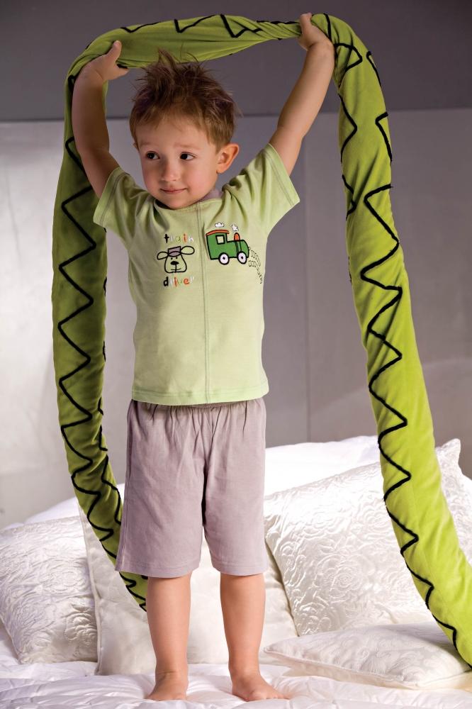 Pijama model 30657 Piccolo Meva gri