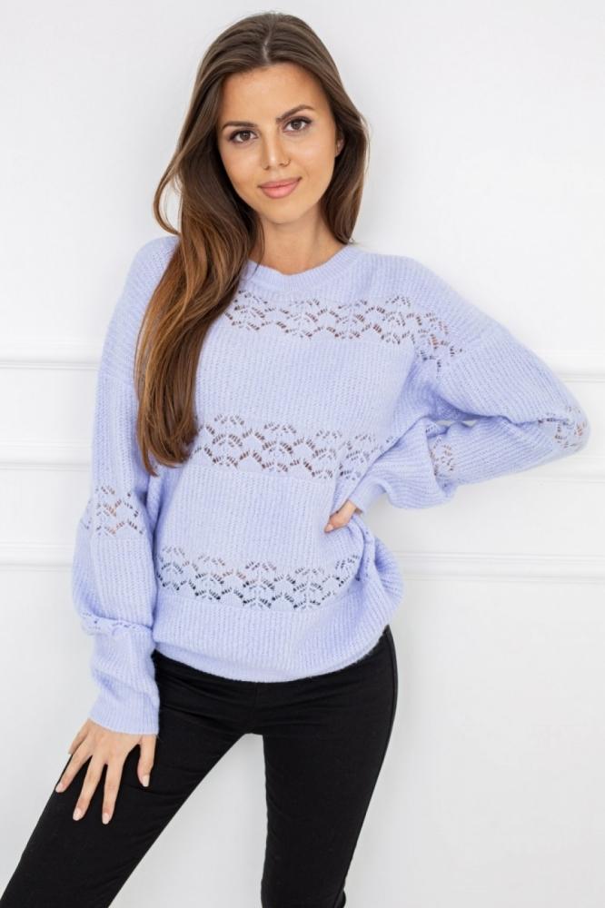Pulover tricotat Model 150360 Vittoria Ventini violet