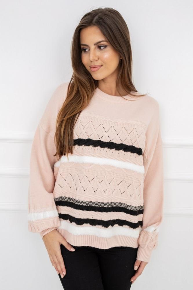 Pulover model 150371 Vittoria Ventini roz