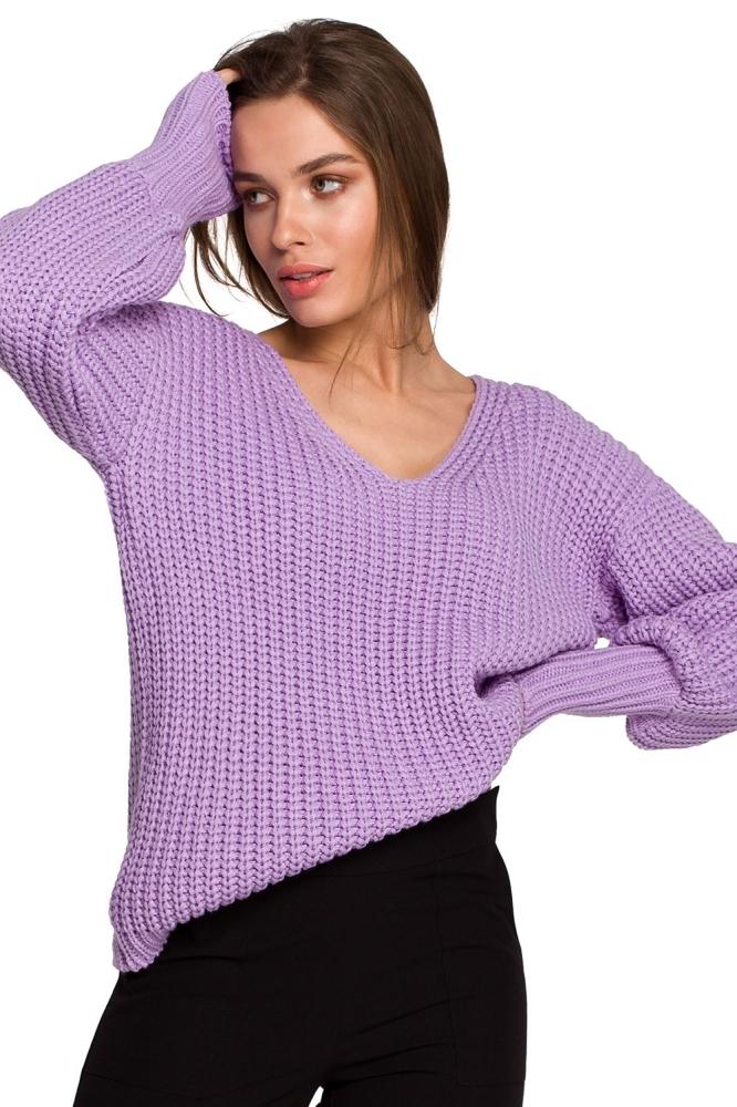 Pulover model 154062 Style violet
