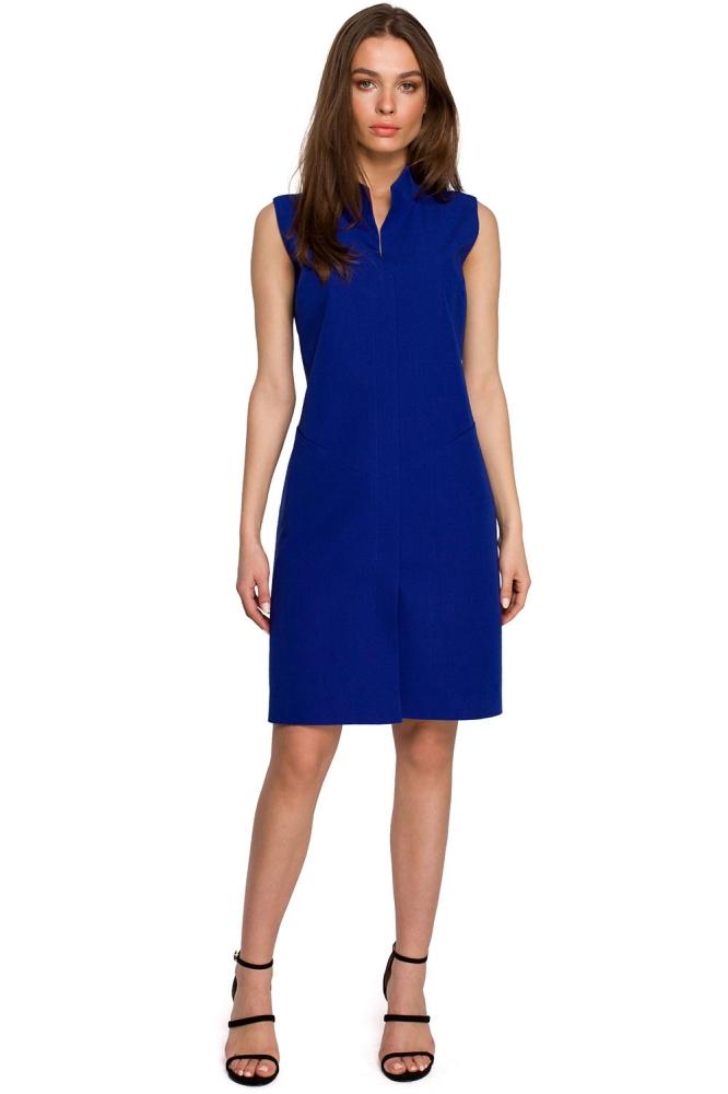 Rochie de zi model 154098 Style albastru