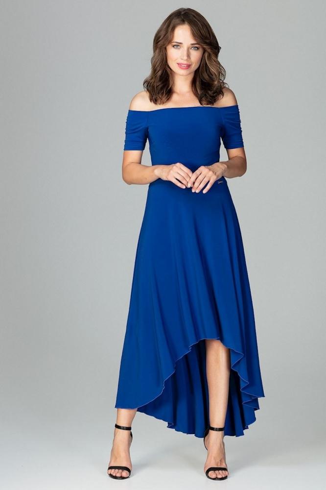 Rochie eleganta model 120752 Lenitif albastru