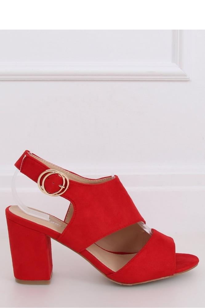 Sandale cu toc model 144374 Inello rosu