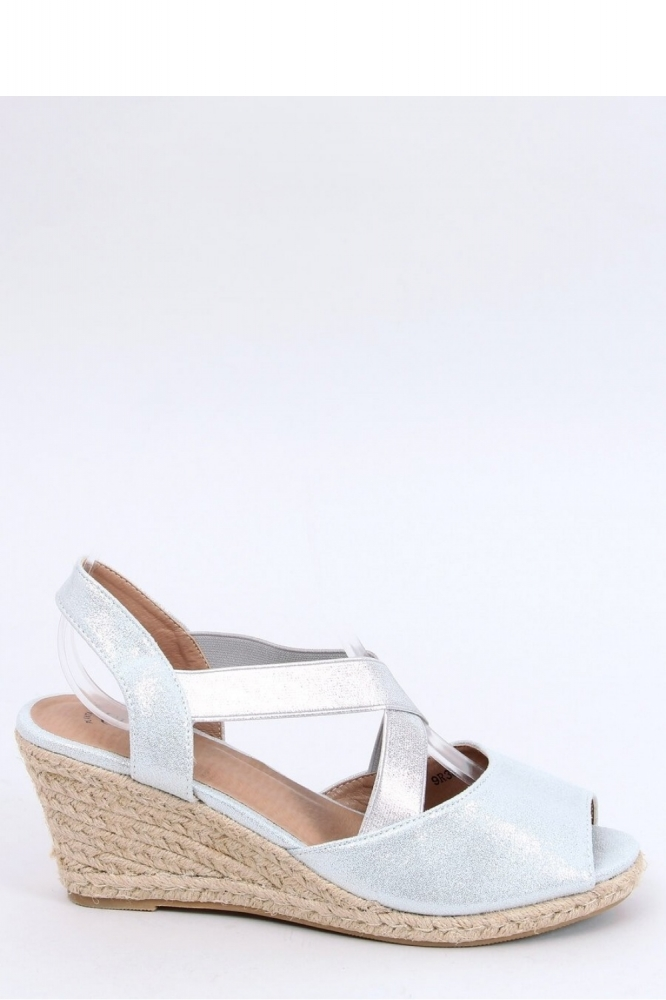 Sandale platforma Model 154015 Inello gri