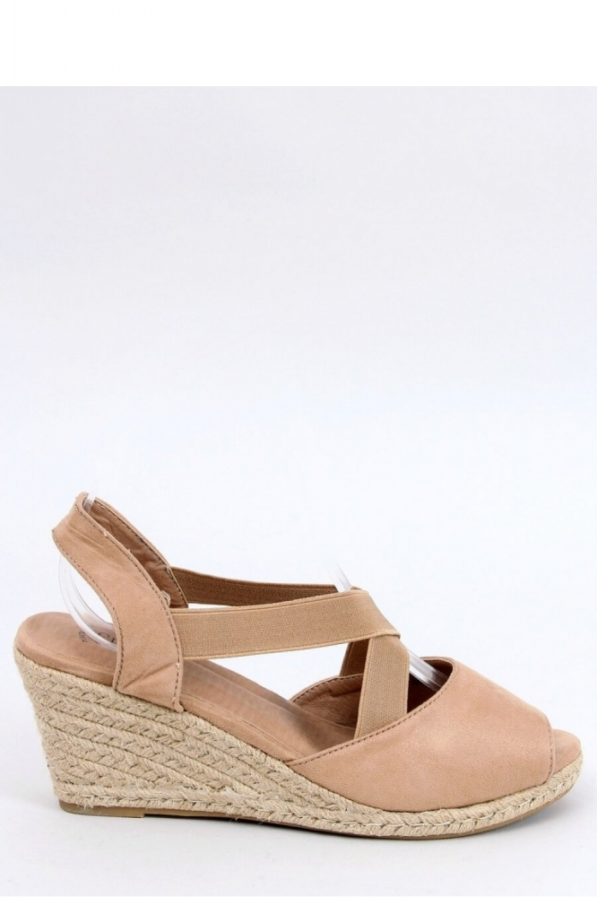 Sandale platforma Model 154017 Inello bej