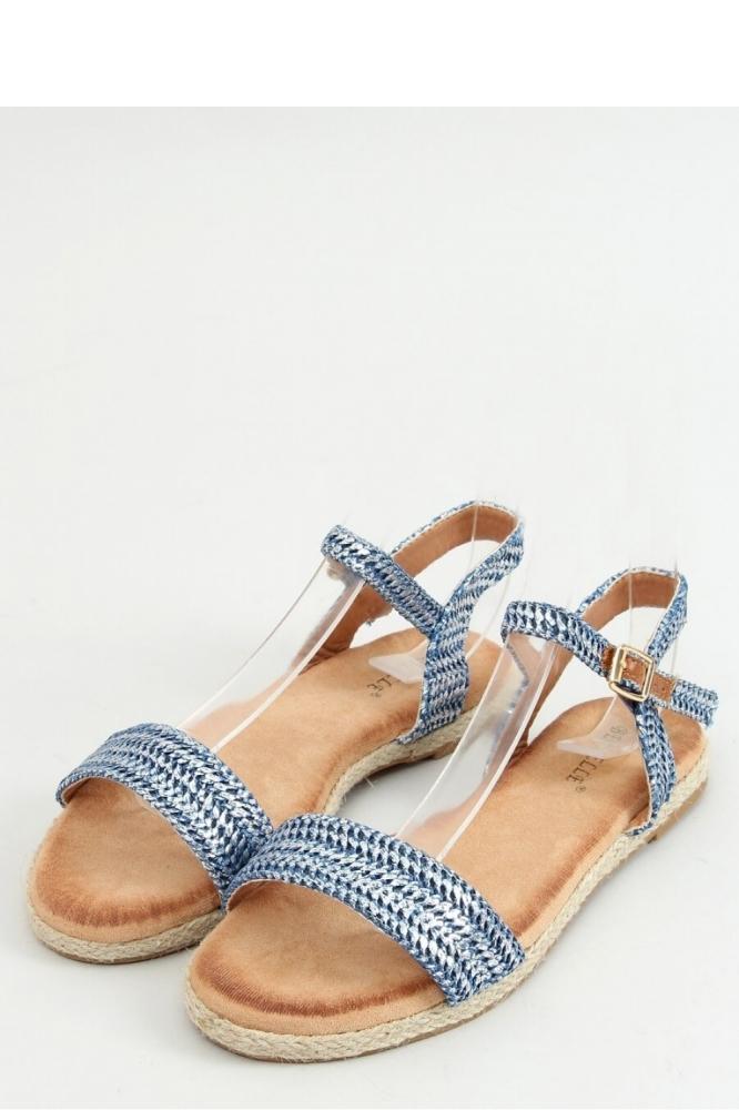 Sandale fara toc Model 154374 Inello albastru