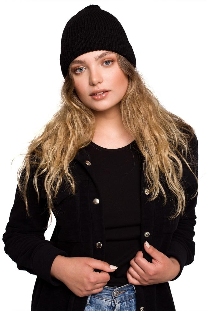 Caciula beanie Model 157576 BE Knit negru