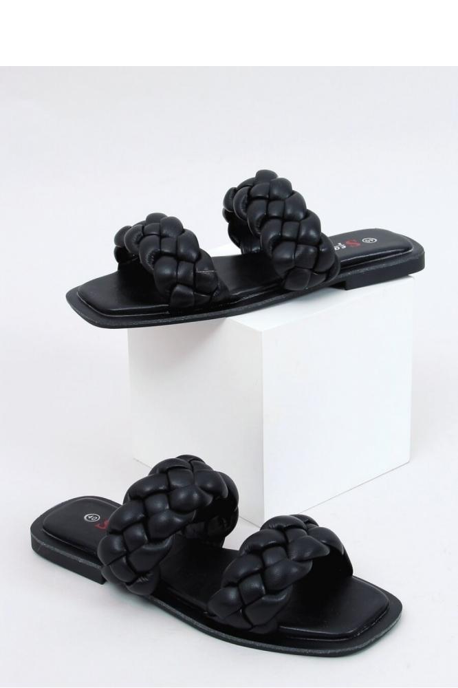 Papuci eleganti Model 154014 Inello negru