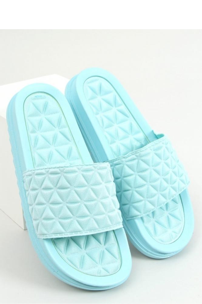 Papuci colorati Model 156604 Inello albastru