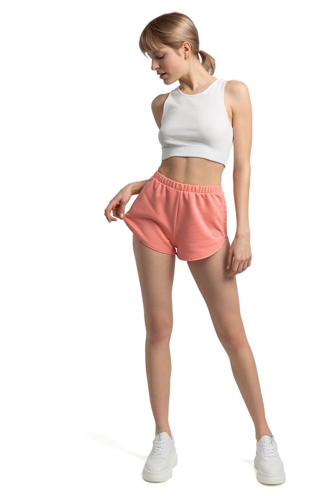 Pantaloni scurti sport Model LA054 Coral - LaLupa roz