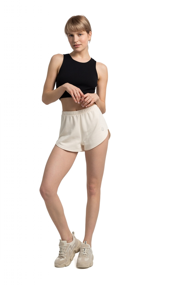 Pantaloni scurti sport Model LA054 Wanilia - LaLupa bej