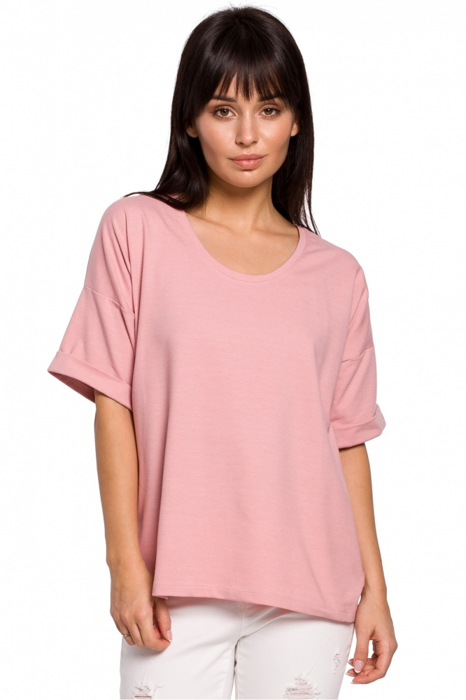 Tricou lejer maneca scurta Model 141468 BE roz