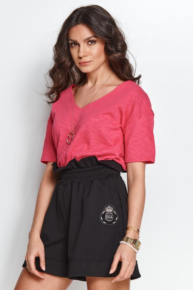 Tricou casual Model 153579 Numinou roz